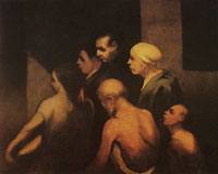 Honoré Daumier The Beggars