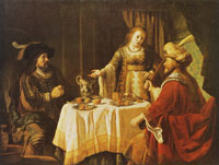 Jan Victors The feast of Esther