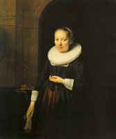 Formerly attributed to Jan Victors and Govaert Flinck Portrait of a Young Lady