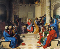 Jean Auguste Dominique Ingres Jesus among the Doctors
