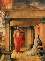 Juan de Flandes Christ Appearing to His Mother