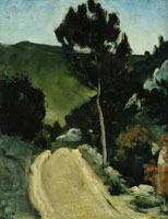 Paul Cézanne Bend in a road in Provence