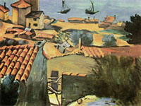Paul Cézanne The fishing village at L'Estaque