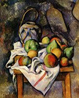 Paul Cézanne Ginger Jar and Fruit