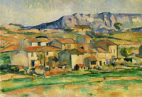 Paul Cézanne Hamlet at Payannet, near Gardanne