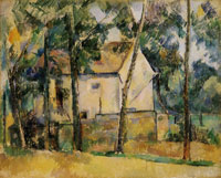 Paul Cézanne House and Trees