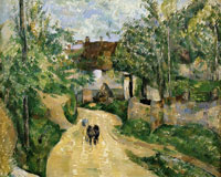 Paul Cézanne Turning road, Auvers-sur-Oise