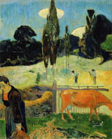 Paul Gauguin The Red Cow