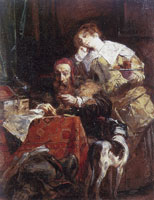 Richard Parkes Bonington The Antiquary