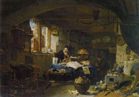Thomas Wijck - The Alchemist