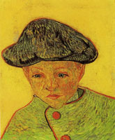 Vincent van Gogh Portrait of Camille Roulin?