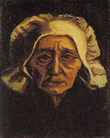 Vincent van Gogh Peasant woman, head