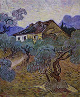 Vincent van Gogh White Cottage