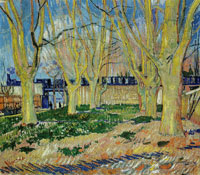Vincent van Gogh Avenue de la Gare with Plane Trees