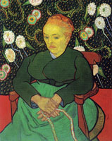 Vincent van Gogh Madame Roulin Rocking the Cradle (La Berceuse)