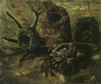 Vincent van Gogh Still life with birds' nests