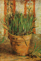 Vincent van Gogh Flowerpot with chives