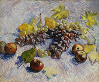 Vincent van Gogh Grapes, Lemons, Pears and Apples
