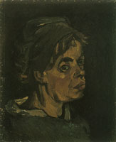 Vincent van Gogh Head of a woman