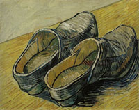 Vincent van Gogh A Pair of Leather Clogs