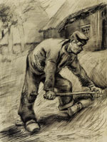 Vincent van Gogh - Man with a Hoe