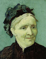 Vincent van Gogh Portrait of the Artist's Mother