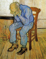 Vincent van Gogh Old Man in Sorrow