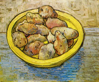 Vincent van Gogh Still-Life with Potatoes in a Yellow Dish