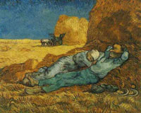 Vincent van Gogh Rest from Work