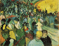 Vincent van Gogh Spectators at the Arena