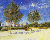 Vincent van Gogh A suburb of Paris
