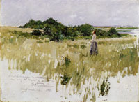 William Merritt Chase - Shinnecock Hills (A View of Shinnecock)