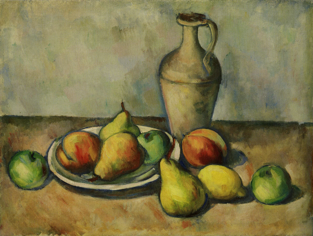 Arshile Gorky - Pears, peaches, and pitcher