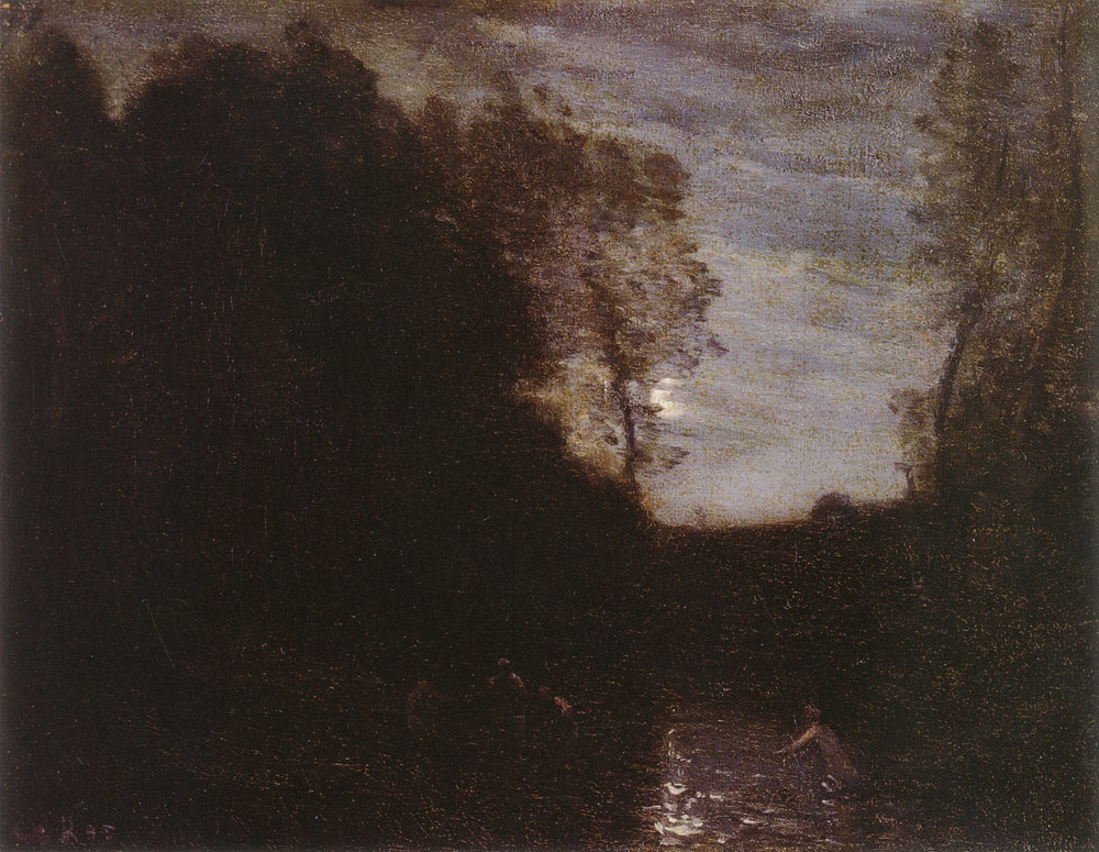 Camille Corot - Moonlight