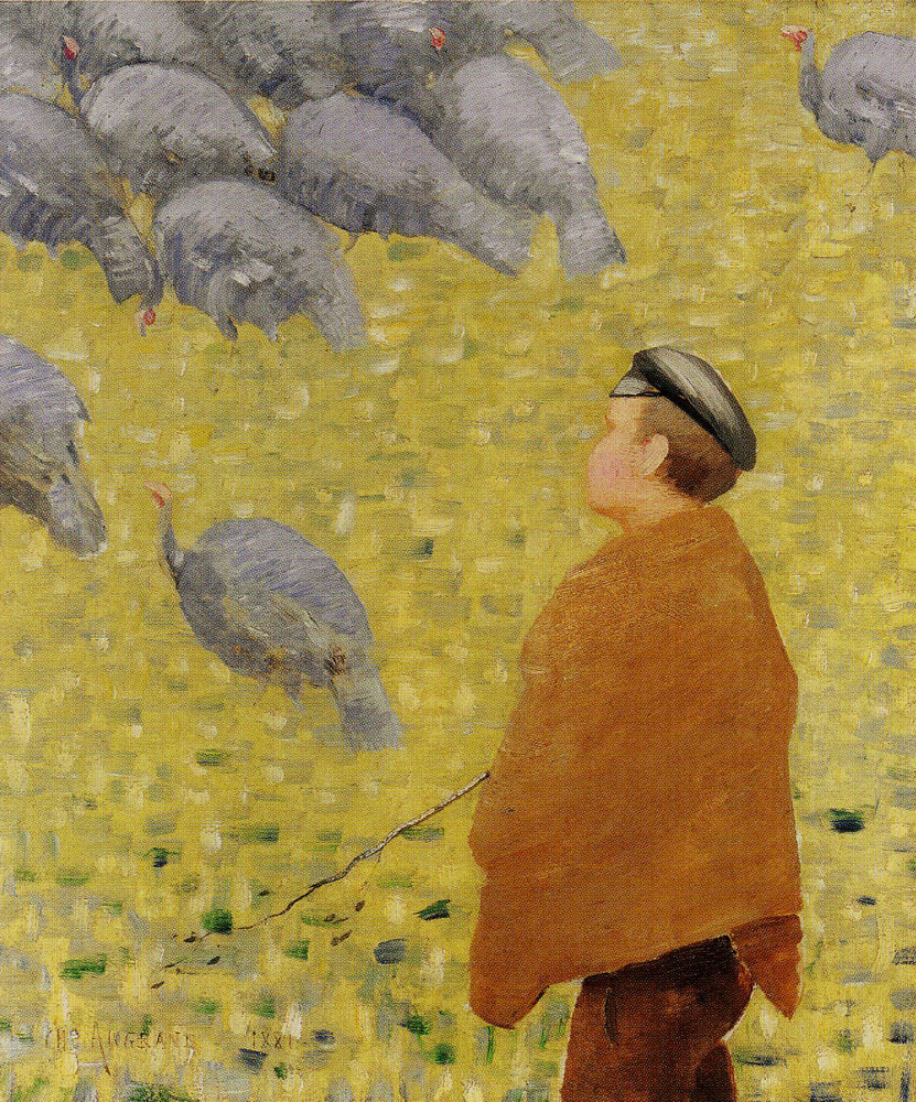 Charles Angrand - The Turkey Herder