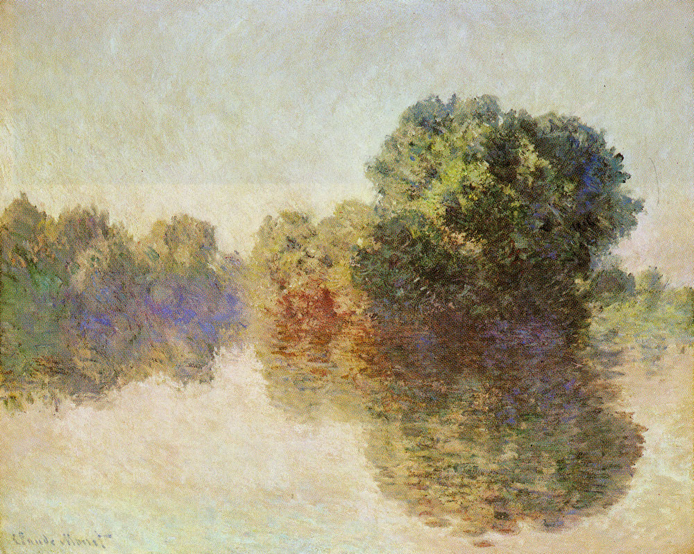 Claude Monet - The Seine at Giverny