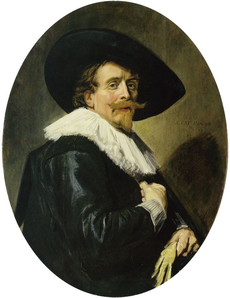 Frans Hals - Portrait of a man