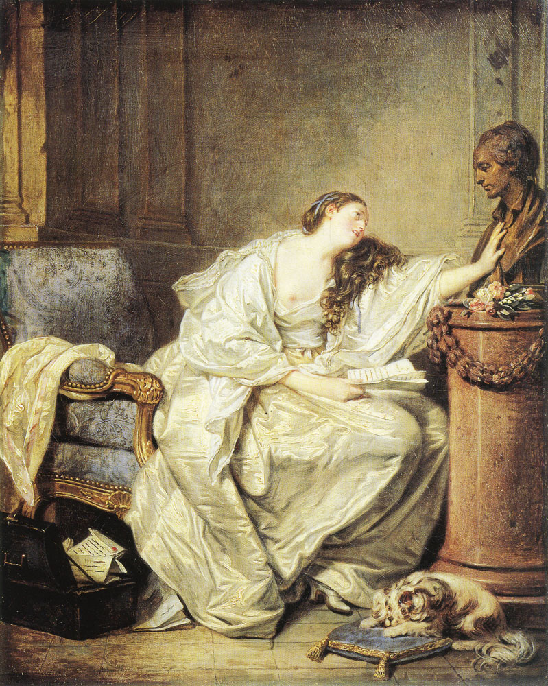 Jean-Baptiste Greuze - The Inconsolable Widow