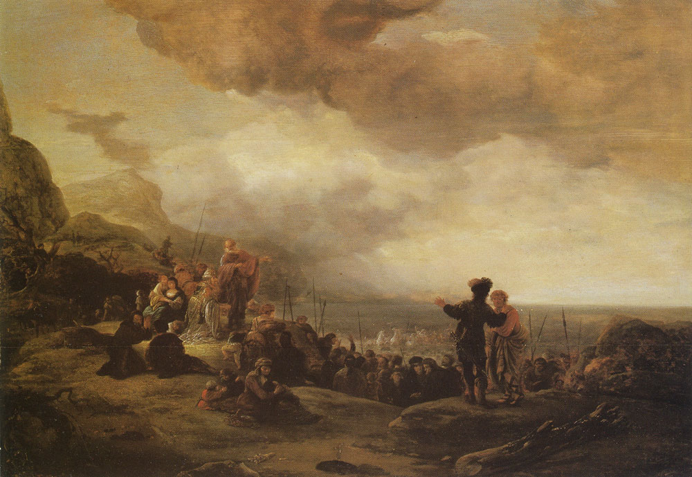 Jacob de Wet - The drowning of the Egypts in the Red Sea