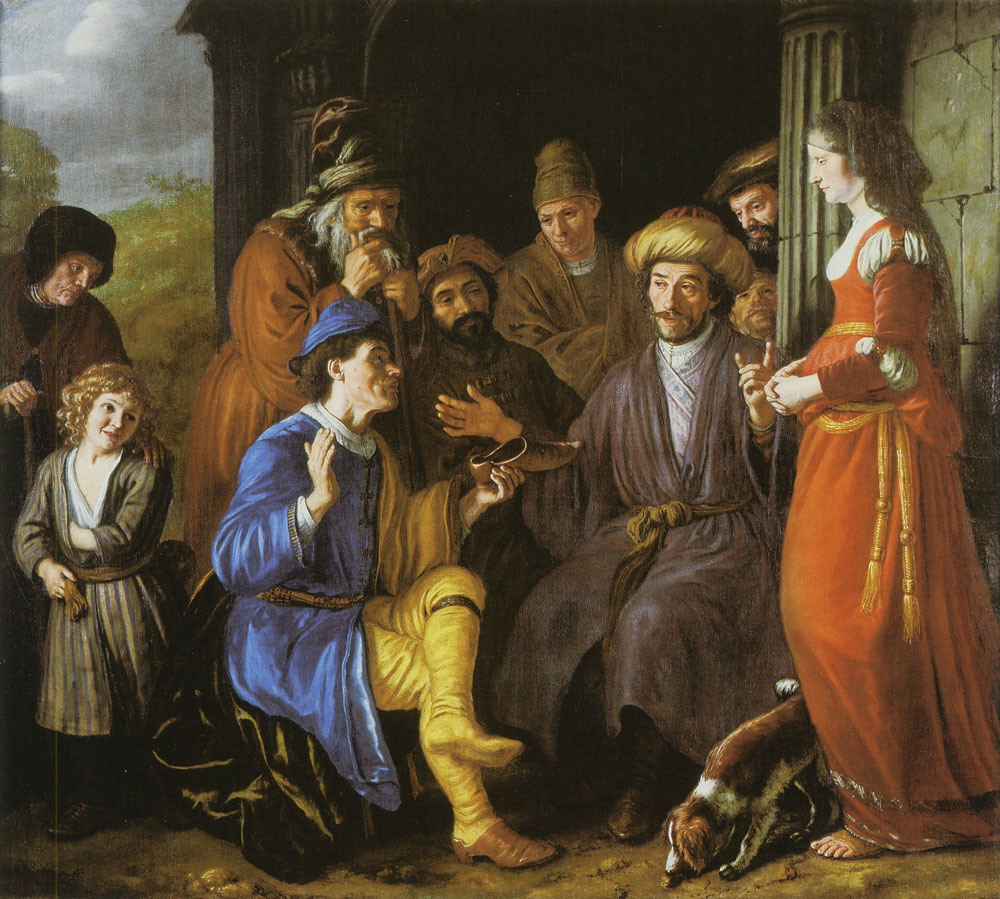 Jan Victors - Boas Assumes the Legacy of Elimelech
