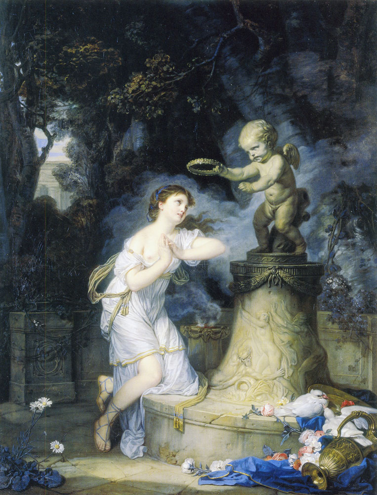 Jean-Baptiste Greuze - Votive offering to Cupid
