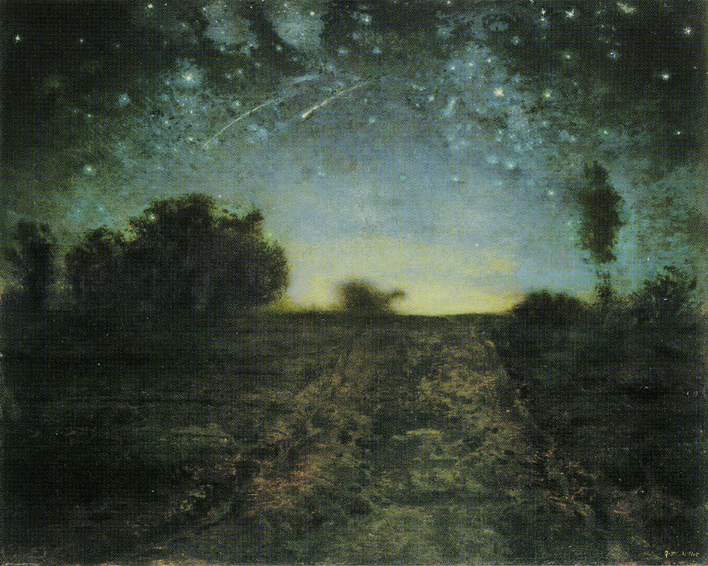 Jean-François Millet - Starry Night