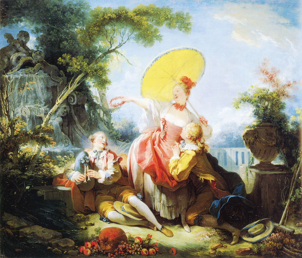 Jean-Honoré Fragonard - The Musical Contest