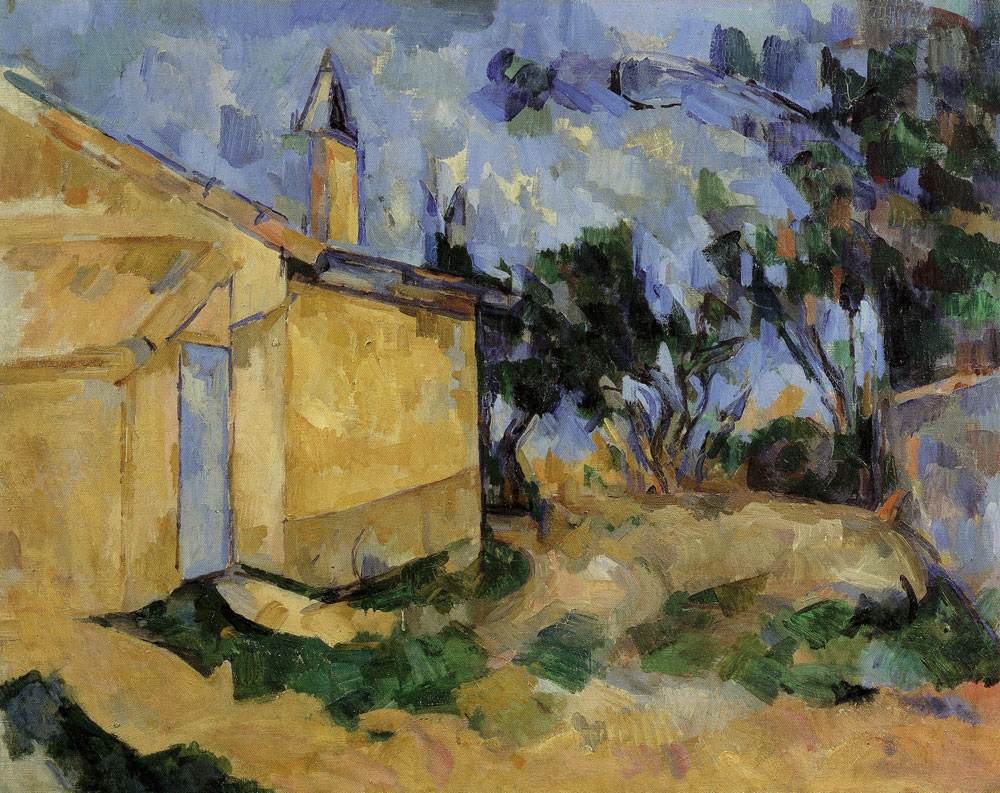 Paul Cézanne - The cabanon of Jourdan