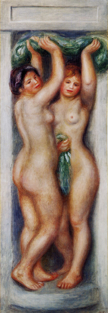 Pierre-August Renoir - Caryatid