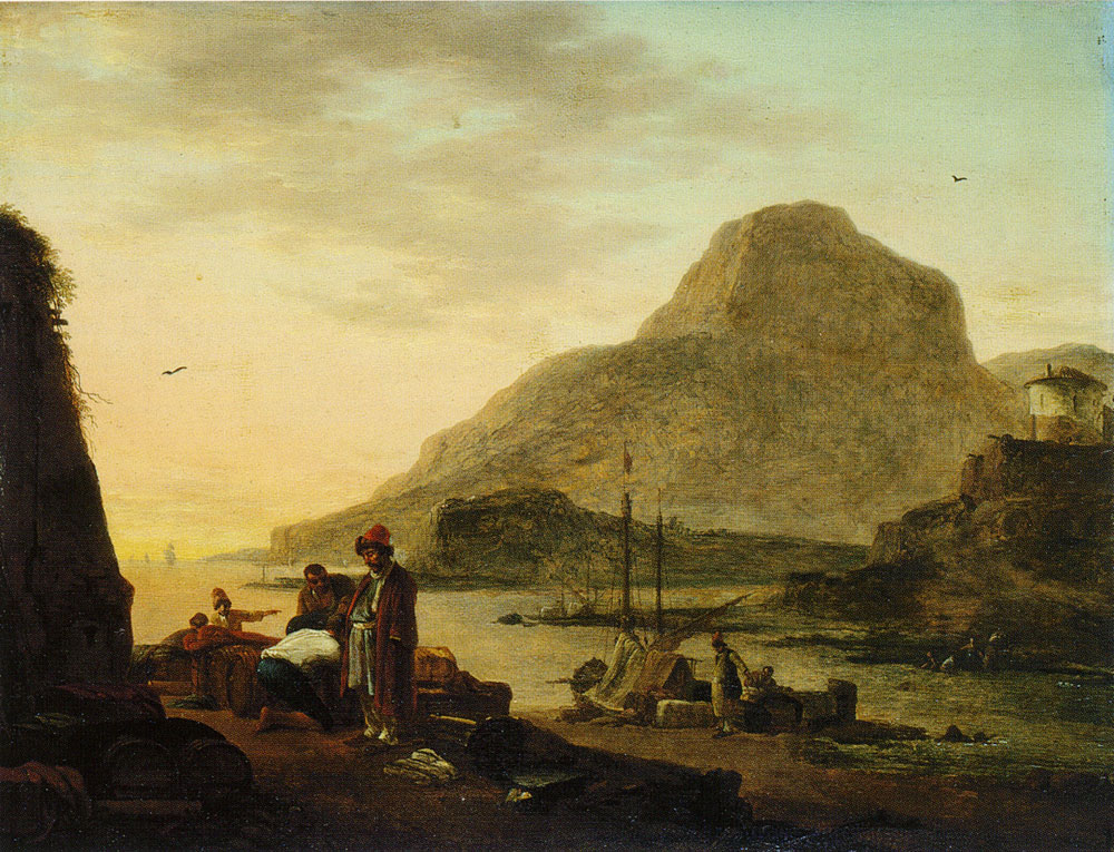 Copy after Thomas Wijck - Southern Harbour