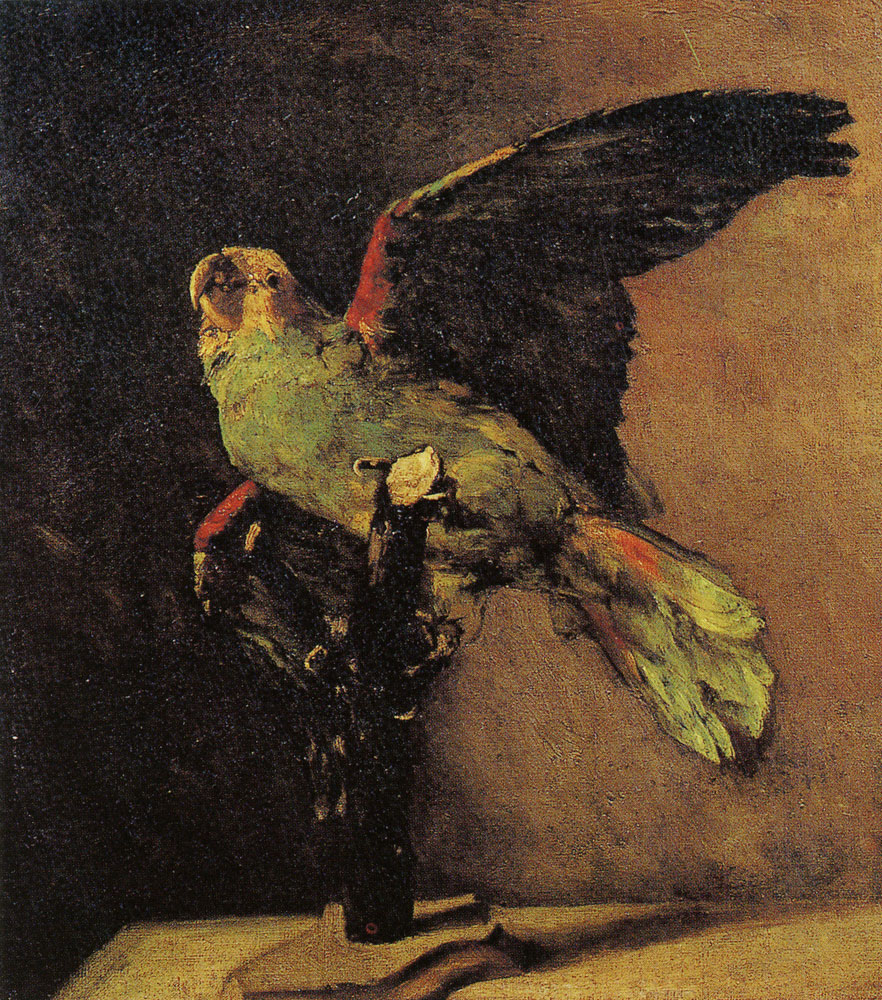 Vincent van Gogh - Stuffed green parrot