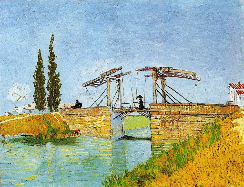 Vincent van Gogh - The Langlois Bridge near Arles