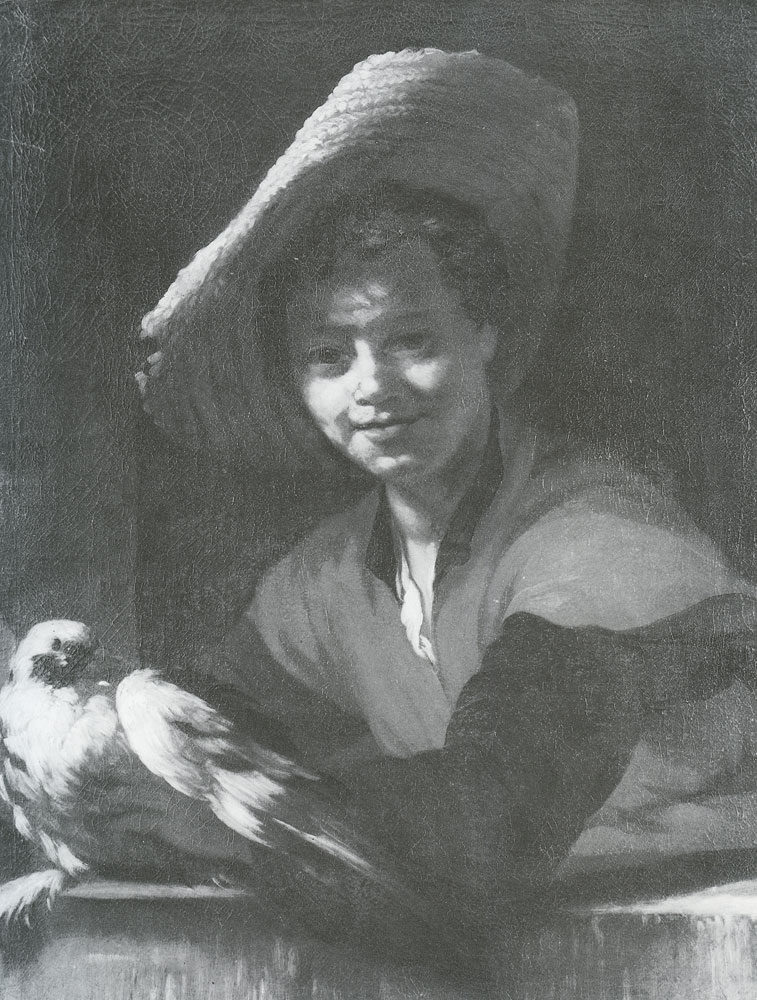 Willem Drost - Boy with a Pidgeon