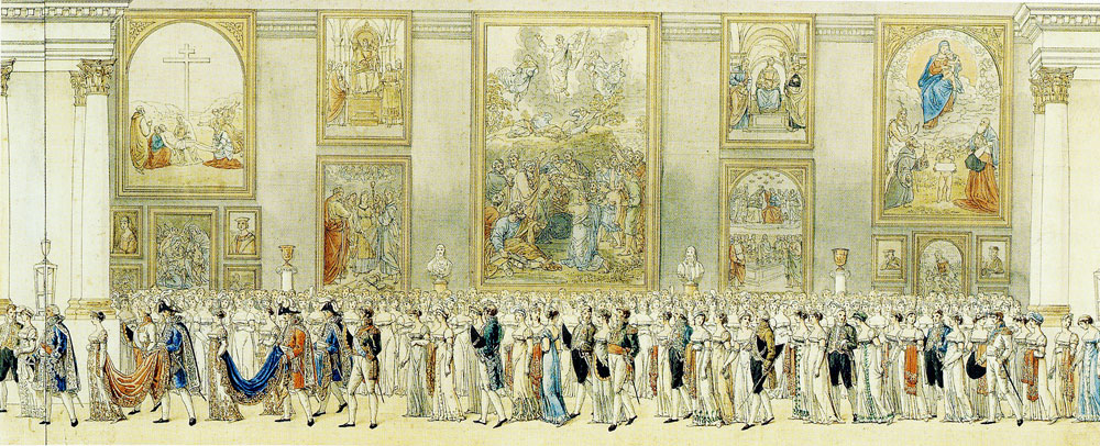 Benjamin Zix - Wedding Procession of Napoleon and Marie-Louise of Austria